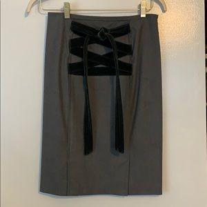 Yves Saint Laurent wool pencil skirt